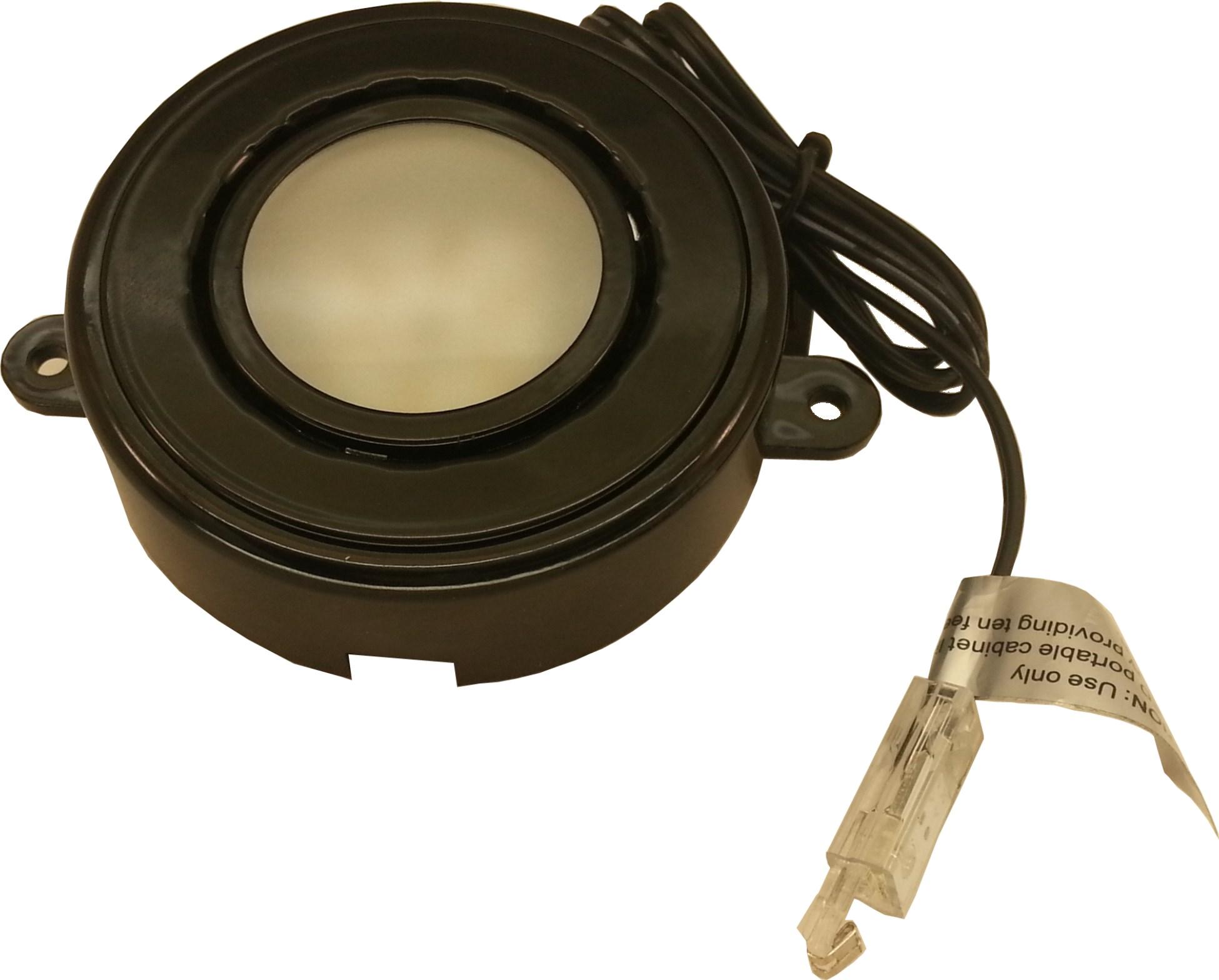 Fc 493 Bk Single Lead Led Puck Light 3 1 4 Quot Diameter